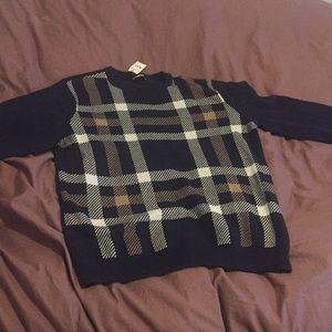 Express knit crew neck sweater